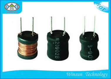 China Stable Wire Wound Ferrite Core Inductor , Copper Wire Fixed Inductor For Switching Power supplier