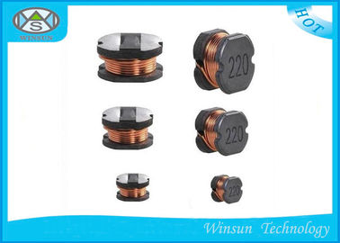 China High Precision Wire Wound Coil Power Inductor , Low DCR Unshielded Inductor supplier