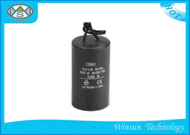 Polypropylene Film High Frequency Capacitor CBB60 , Long Life AC Star Capcitor