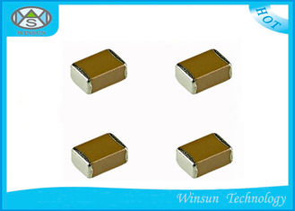 China High Voltage Multilayer Ceramic Capacitors 0603 - 2225 For Voltage Multipliers supplier