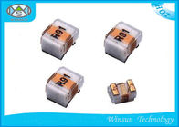 Yellow / Black Wire Wound Inductor 0402 ~ 1210 Ceramic Chip Inductors High Frequency