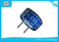 Button C Type Super Farad Capacitor Low ESR  Blue 5.5V One Farad Capacitor